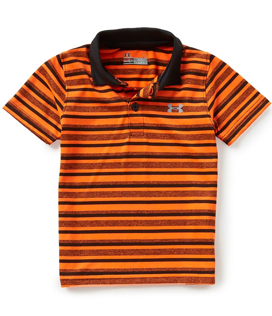Under Armour Baby Boys 12-24 Months Striped Matchplay Polo Shirt