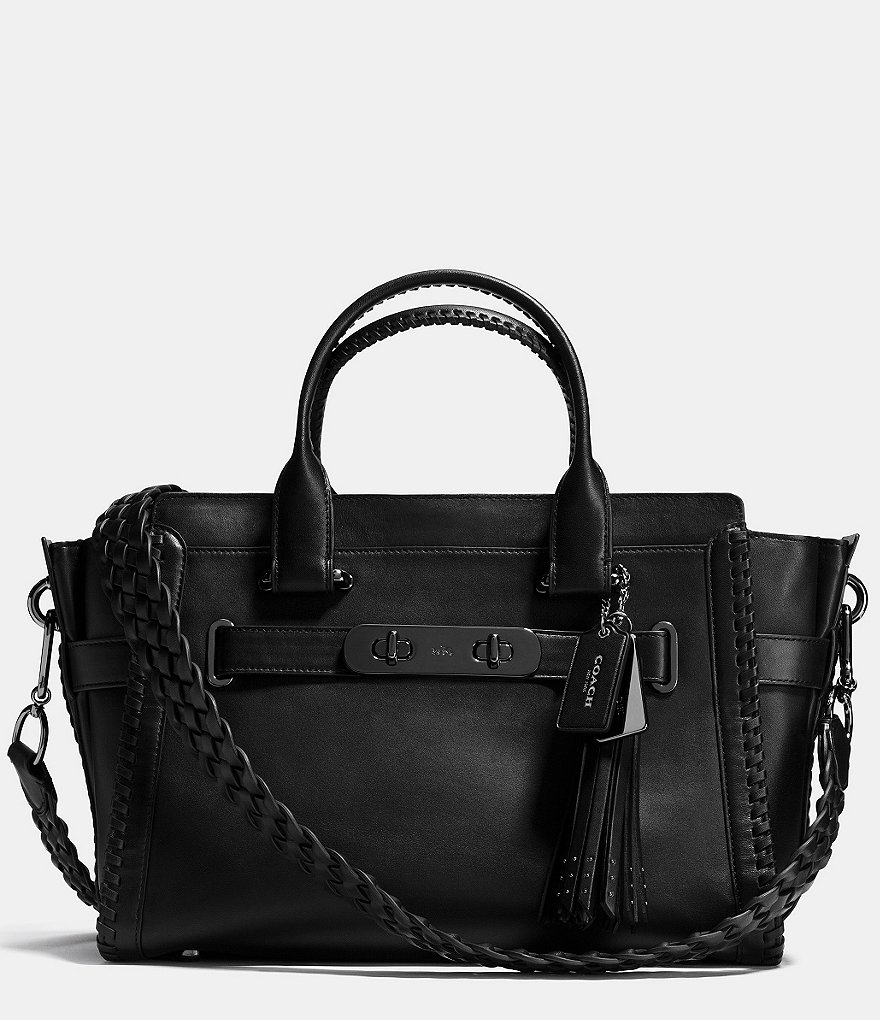 COACH RIP AND REPAIR SWAGGER CARRYALL IN GLOVETANNED LEATHER