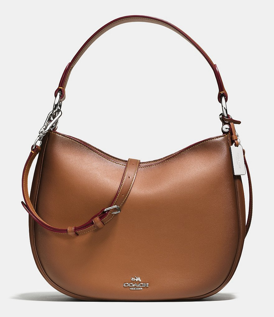 COACH NOMAD CROSSBODY IN BURNISHED GLOVETANNED LEATHER