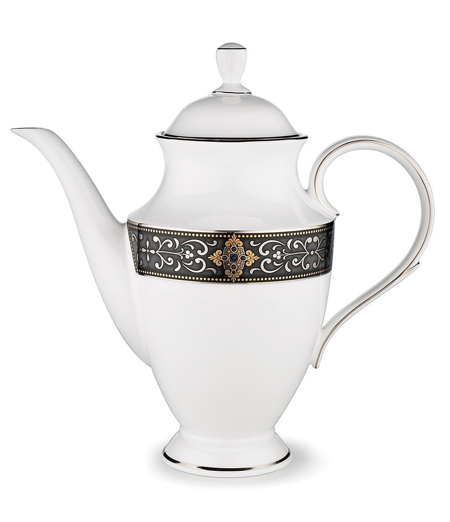 Lenox Vintage Jewel Bone China Coffeepot