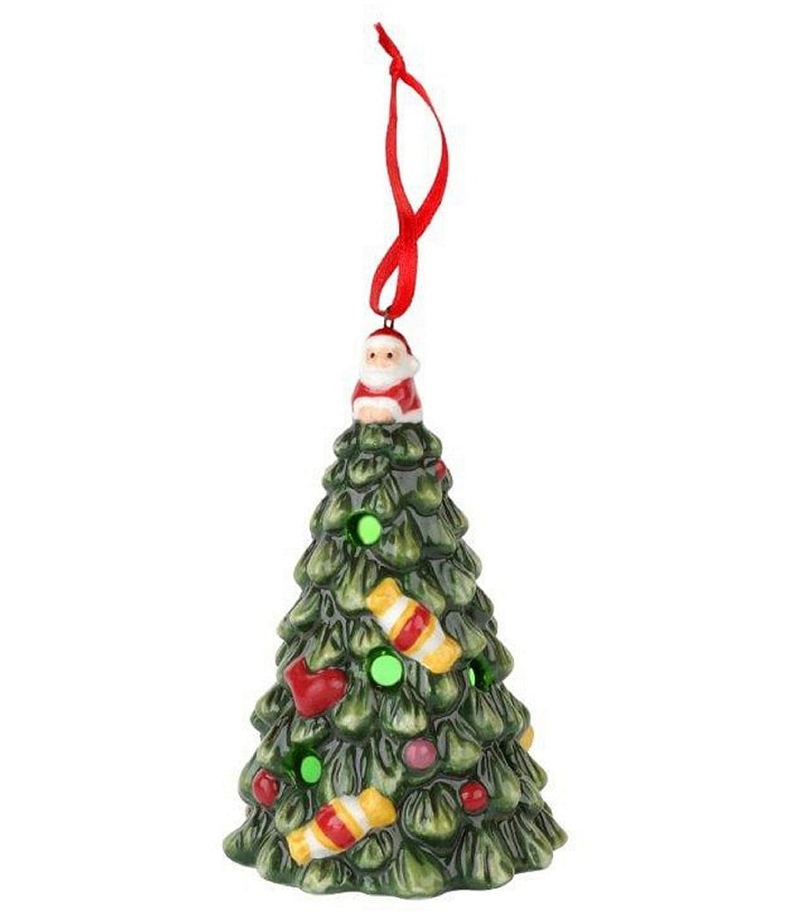 Spode Christmas Tree Multicolor LED Ornament