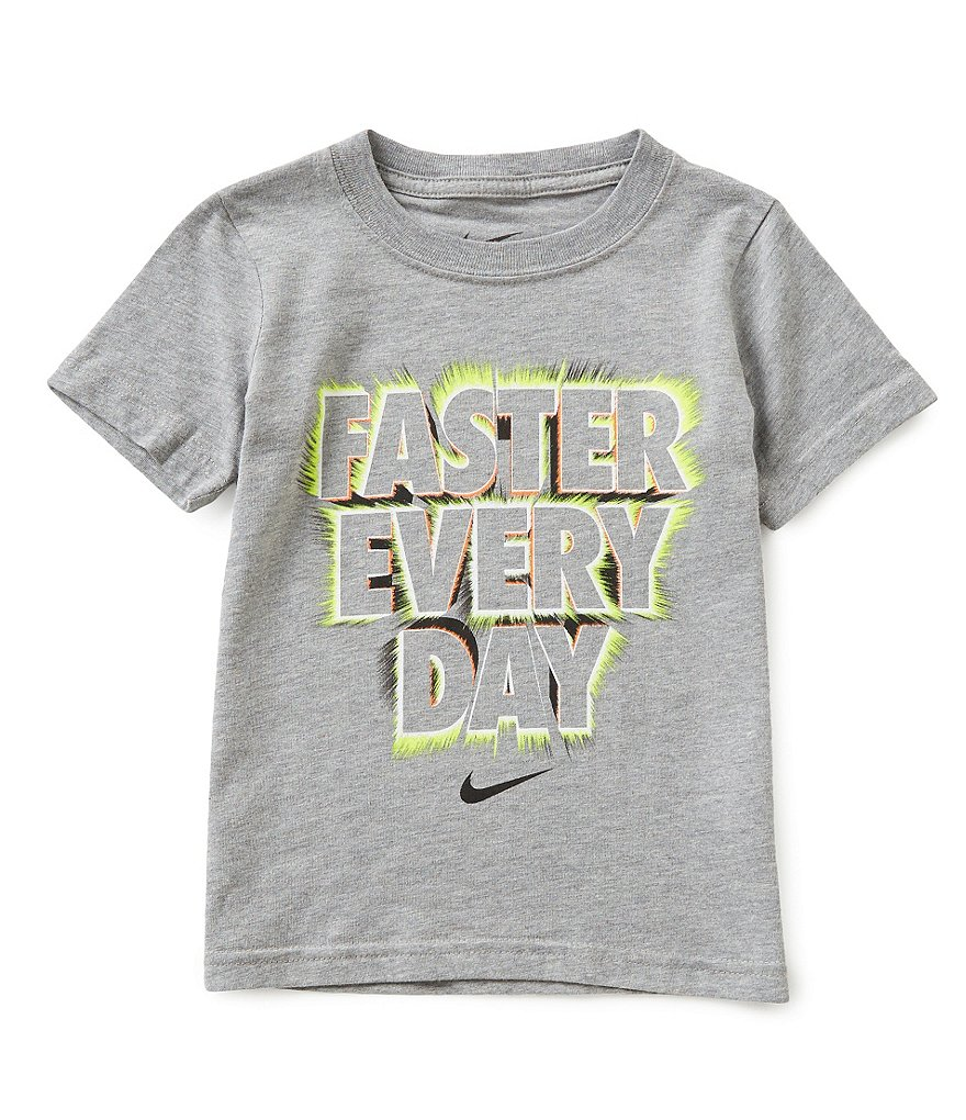 Nike Little Boys 2T-7 Faster Everyday Short-Sleeve Tee