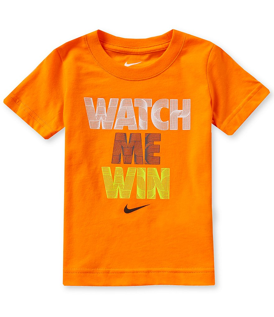 Nike Little Boys 2T-7 Watch Me Win Short-Sleeve Graphic Tee