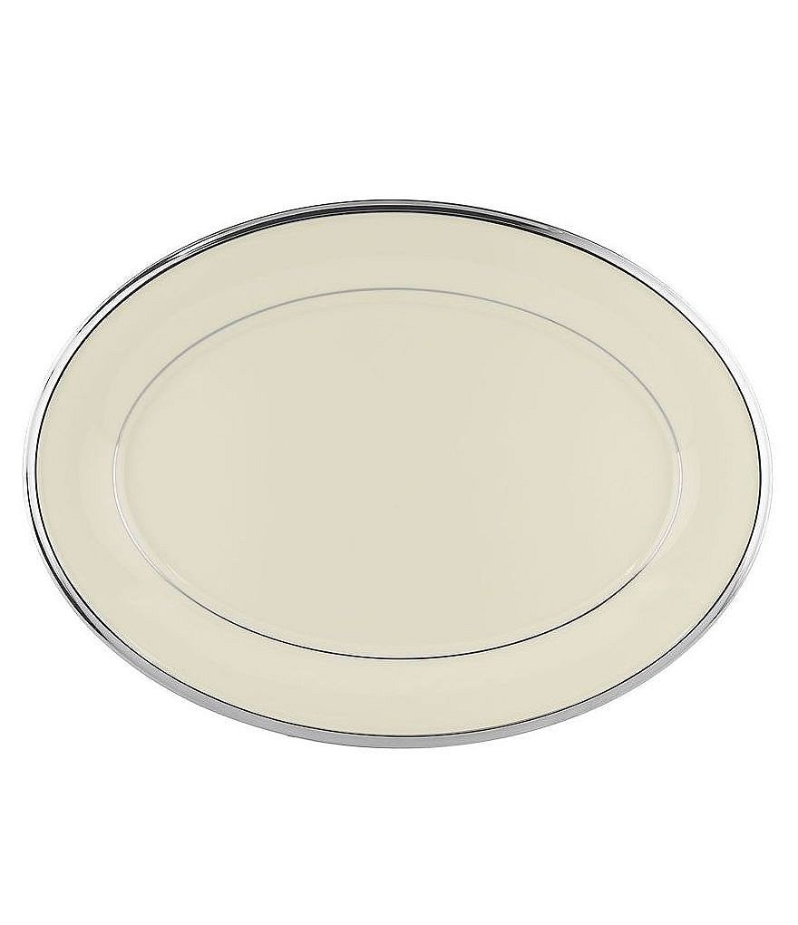 Lenox Solitaire Oval Platter