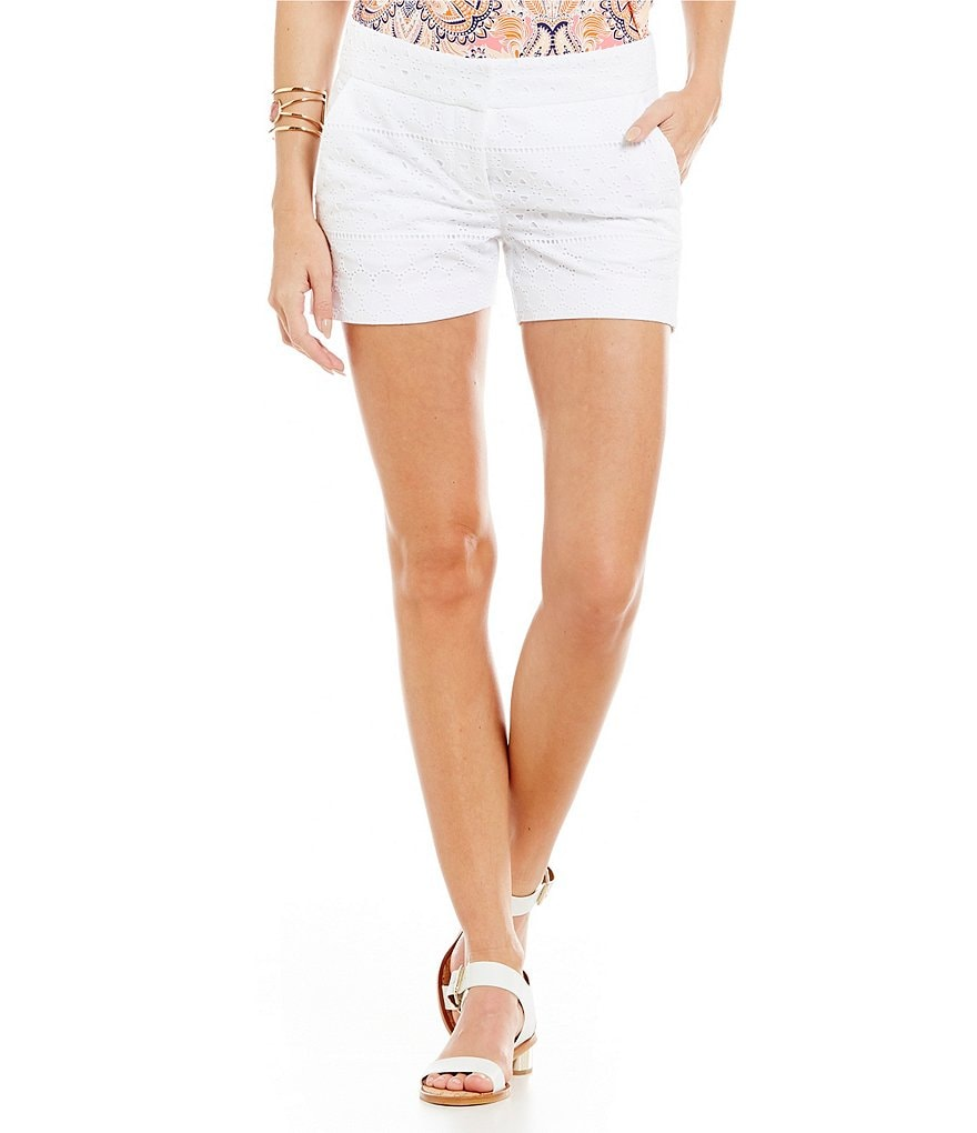 Cremieux Percy Lace Eyelet Short