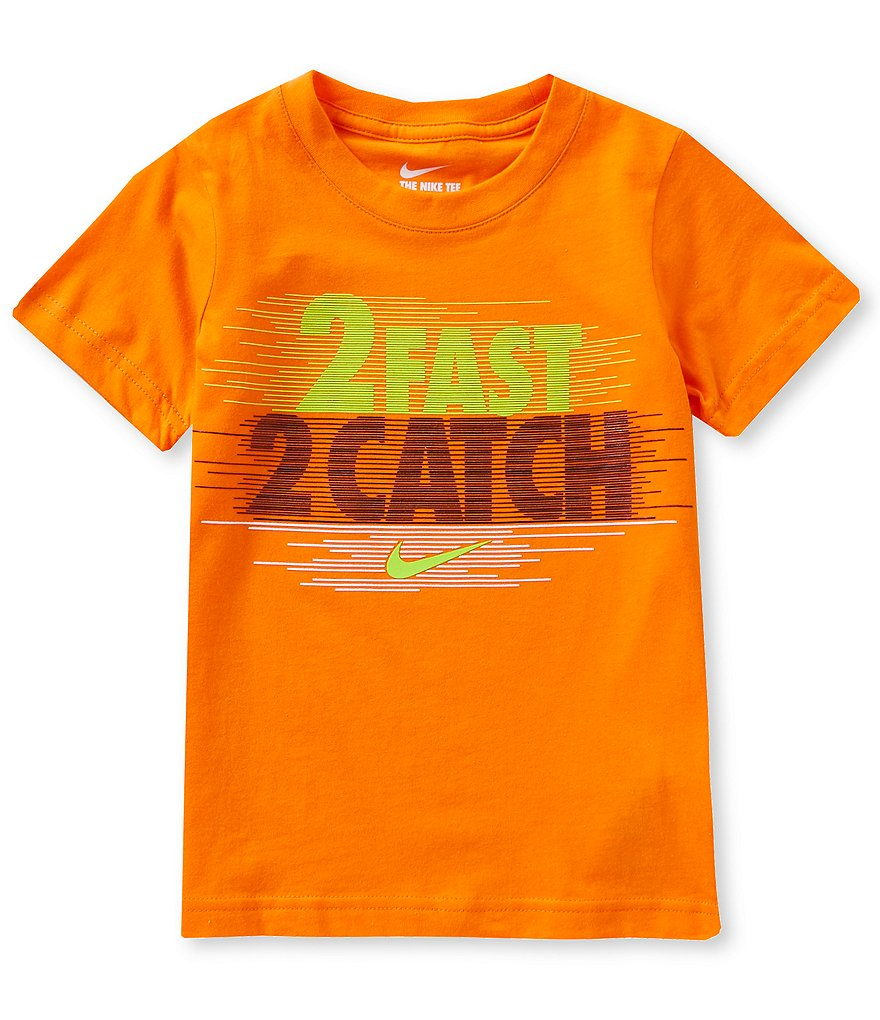 Nike Little Boys 2T-7 2Fast 2Catch Short-Sleeve Graphic Tee