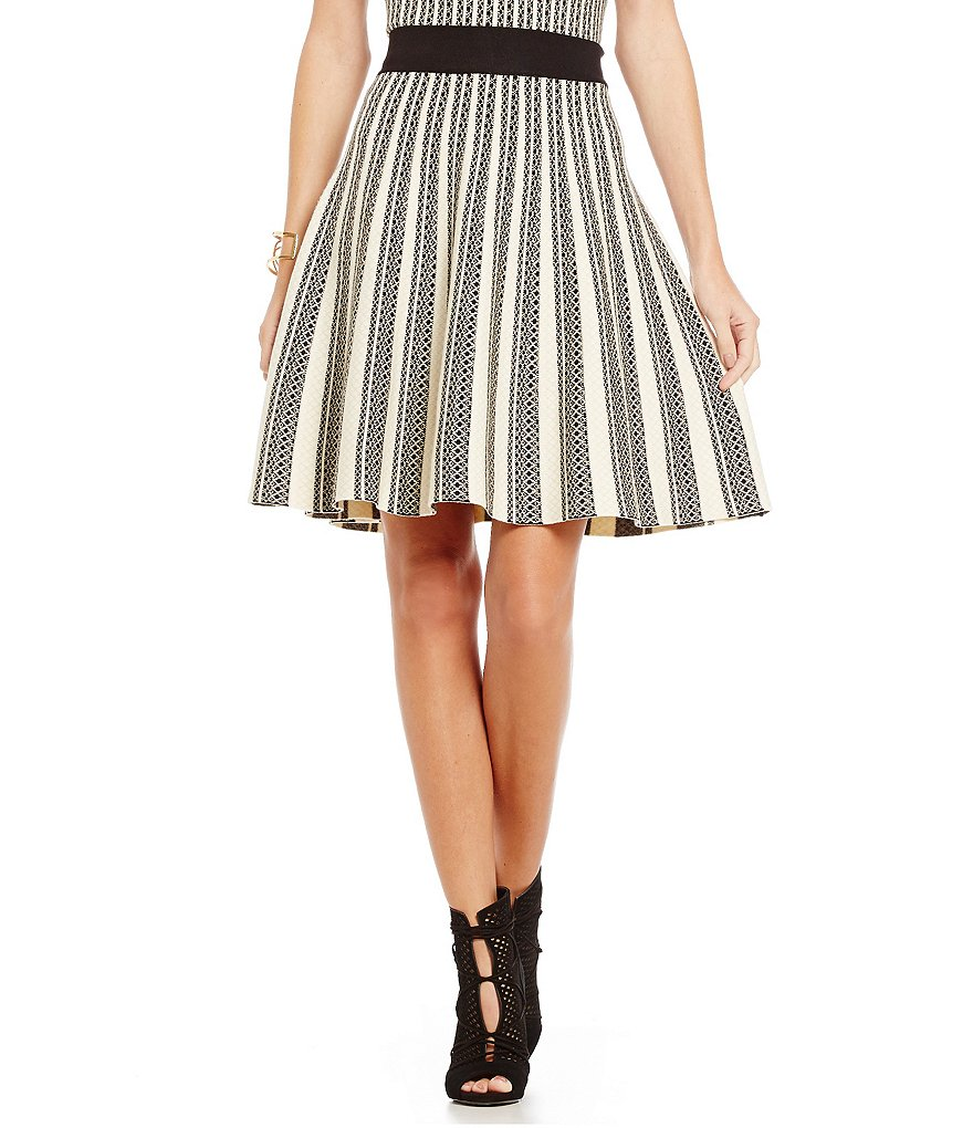 Lucy Paris Rachel Pleated Mini Skirt