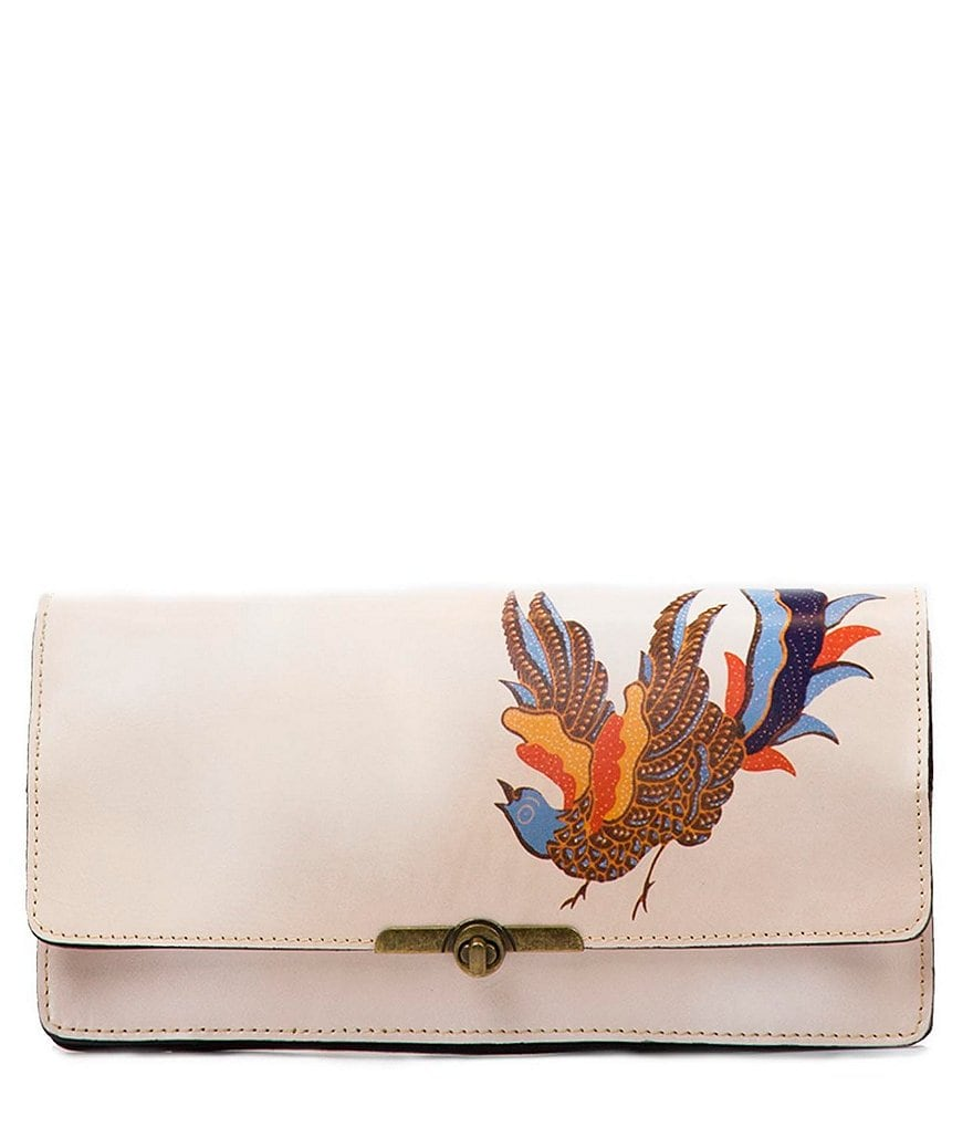 Patricia Nash Exotic Bird Collection Prado Clutch