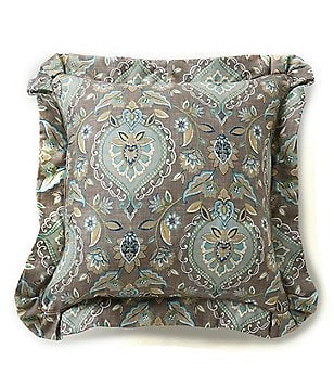 Villa by Noble Excellence Cara Medallion Square Pillow
