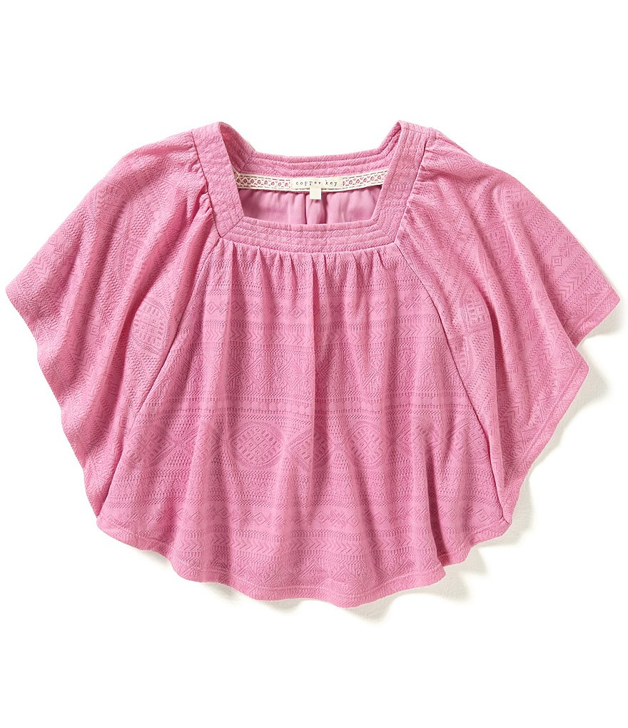 Copper Key Big Girls 7-16 Knit Circle Swing Top