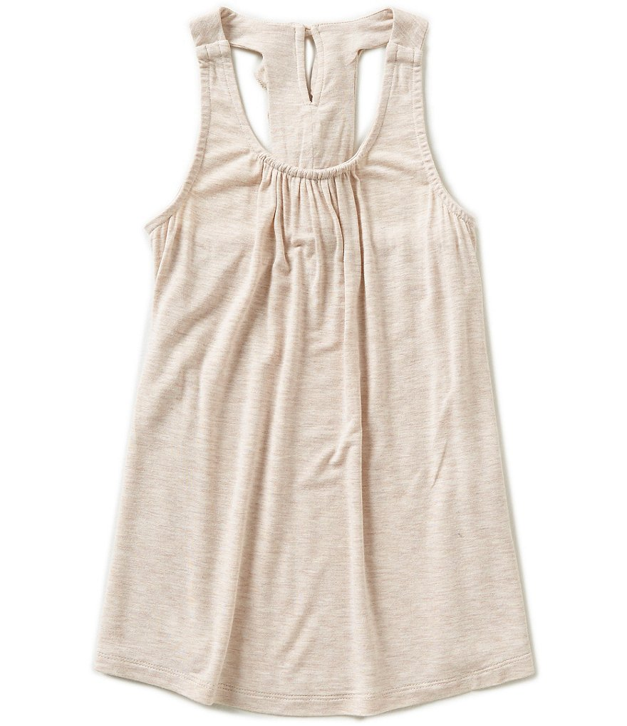 Copper Key Big Girls 7-16 Ruffle-Back Swing Tank