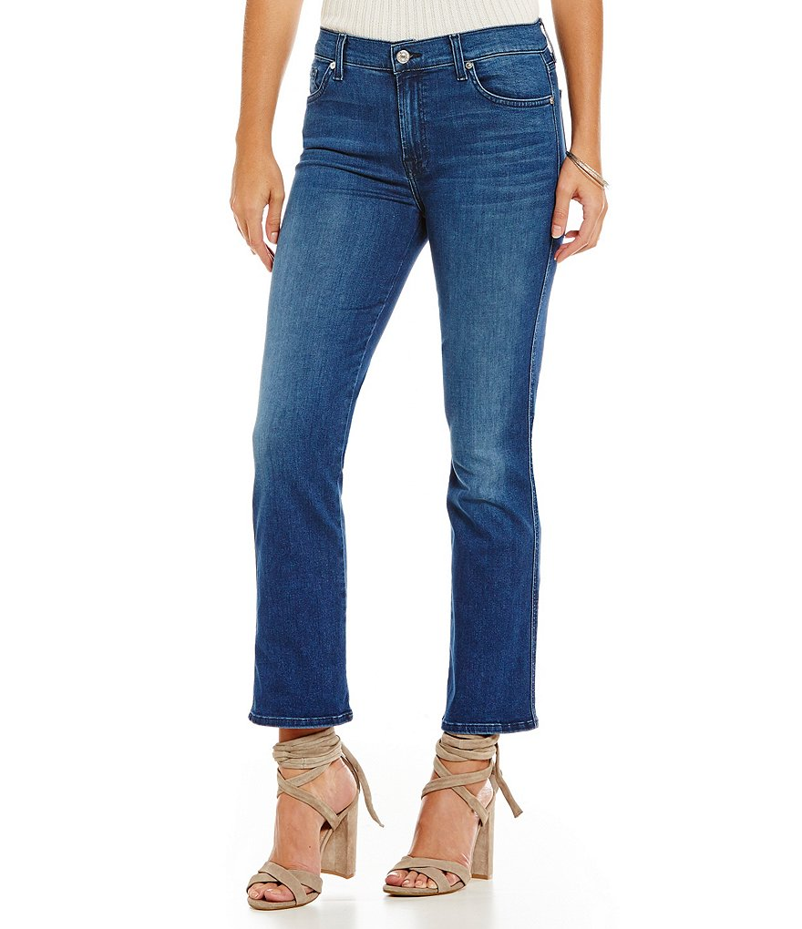 7 for All Mankind Slim Illusion Cropped Boot Jean