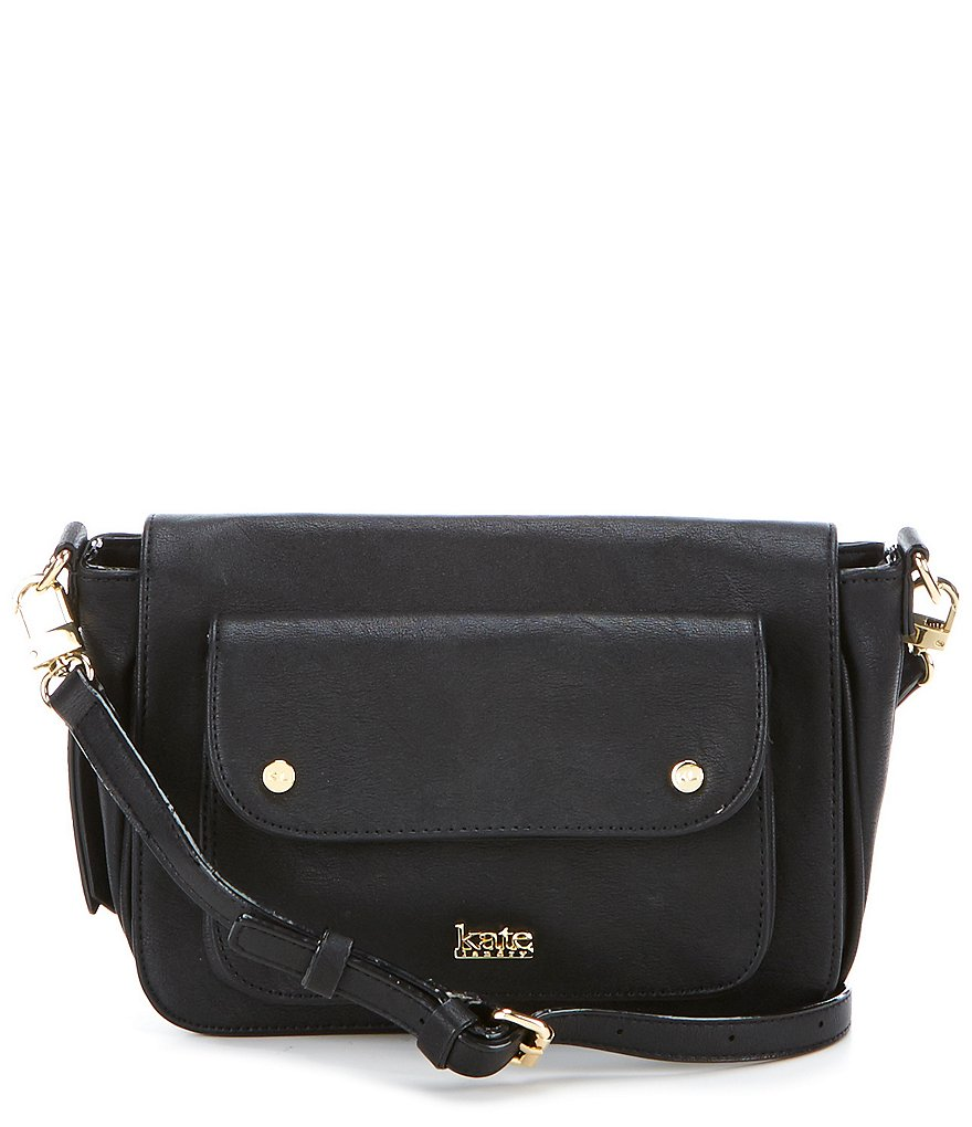 Kate Landry Pleated Pocket Expandable Cross-Body Bag