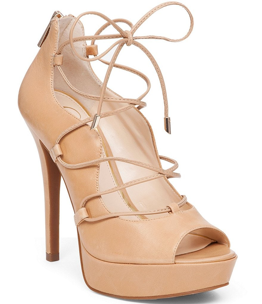 Jessica Simpson Baylinn Lace-Up Pumps
