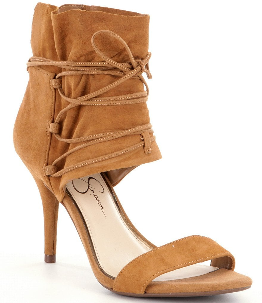 Jessica Simpson Madeena Lace-Up Pumps