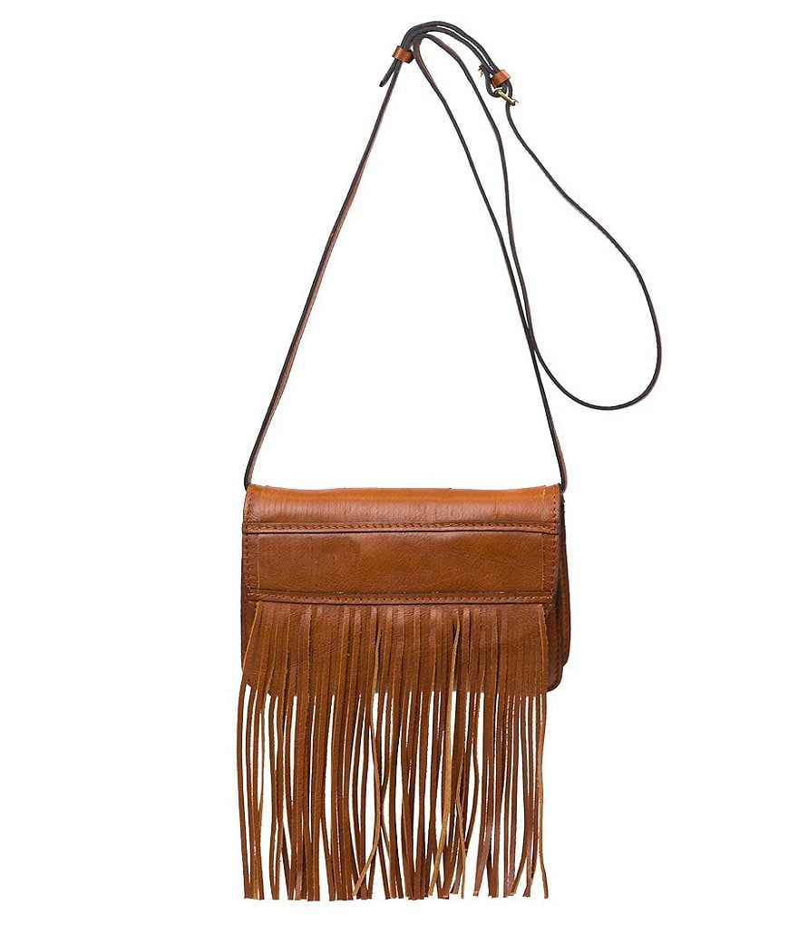Patricia Nash Soft Veg Fringe Collection Torri Cross-Body Bag