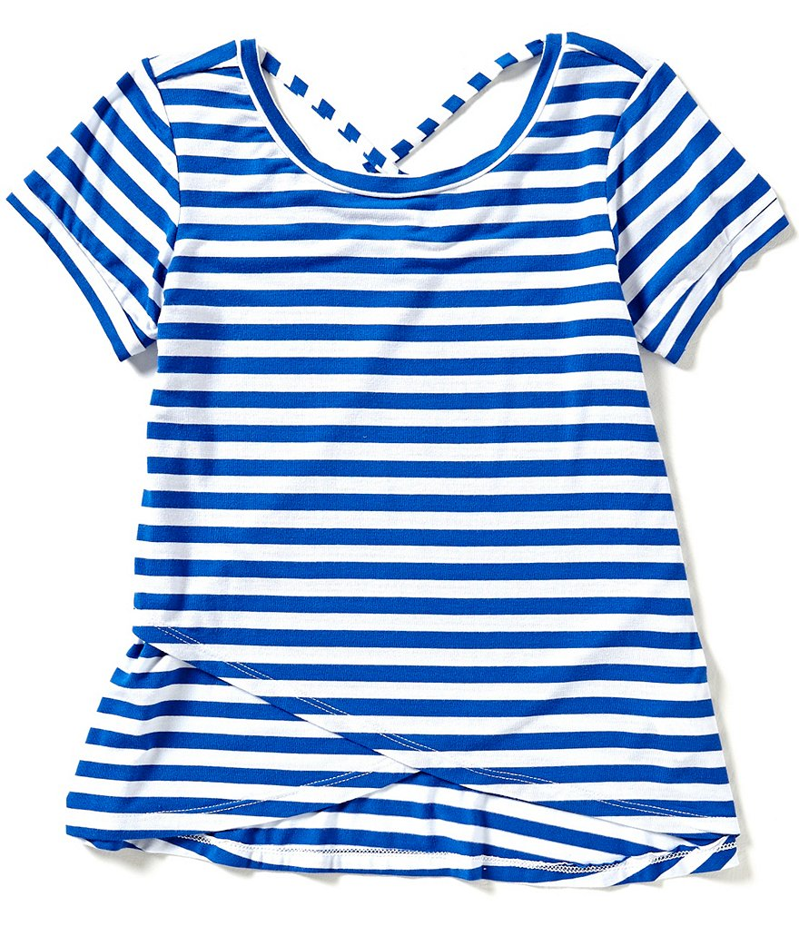 Copper Key Big Girls 7-16 Striped Tee