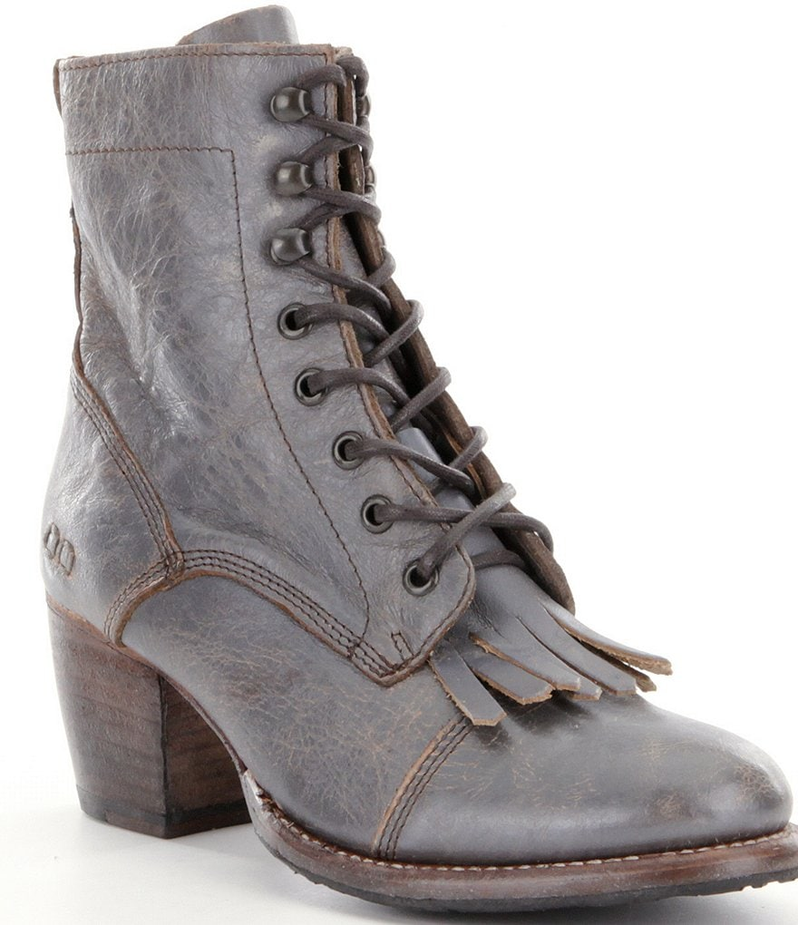 Bed Stu Finis Lace Up Kiltie Boots