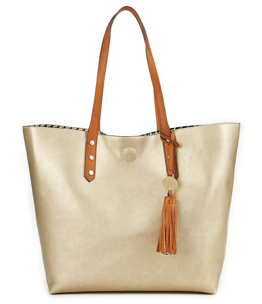 Kate Landry Tote with Tassel