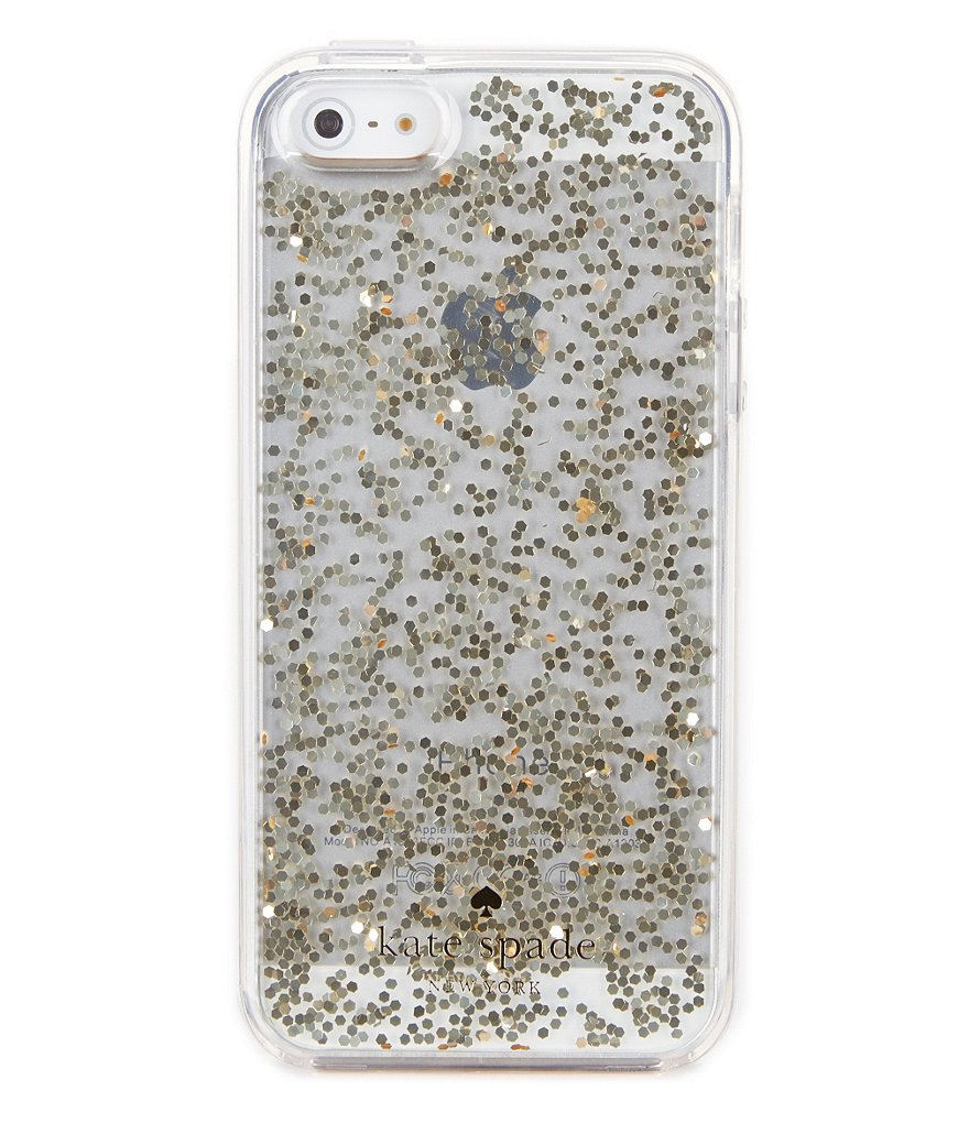 kate spade new york Glitter iPhone SE Case