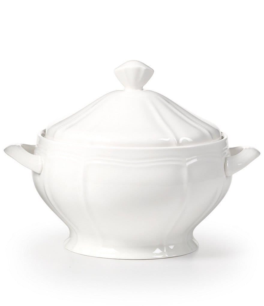 Mikasa Antique White Porcelain Covered Casserole