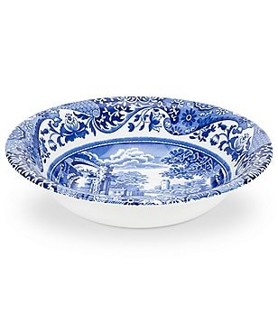 Spode Blue Italian Ascot Cereal Bowl