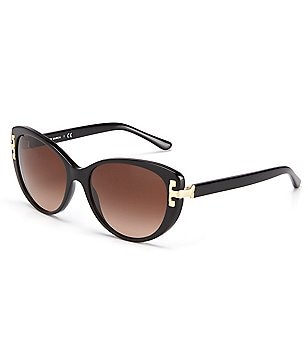 Tory Burch Reva T Cat-Eye Sunglasses