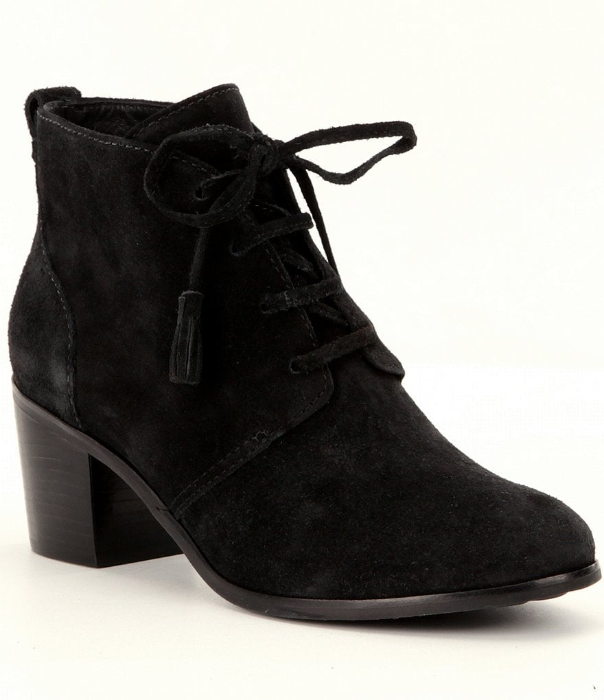 Nurture Moseley Lace Up Tassel Booties