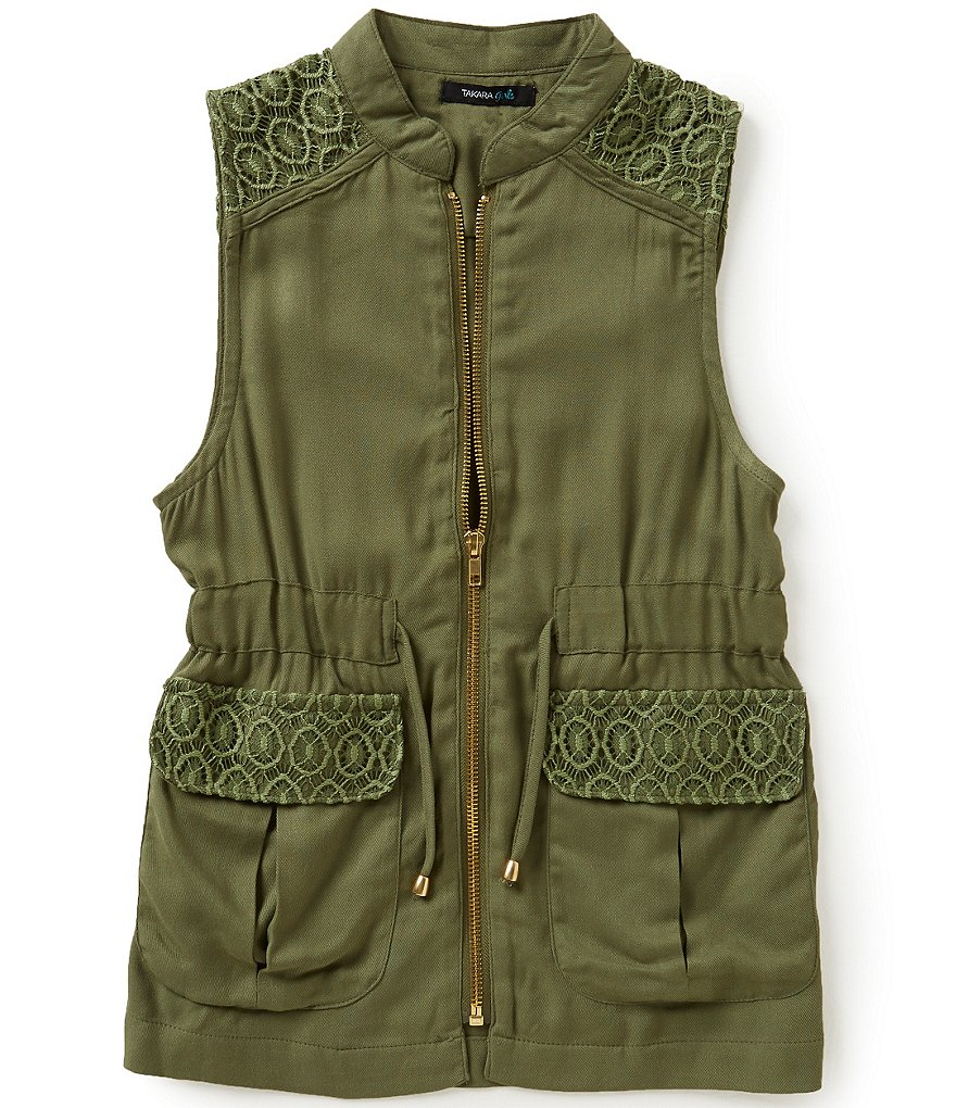 Takara Little Girls 4-6X Utility Vest