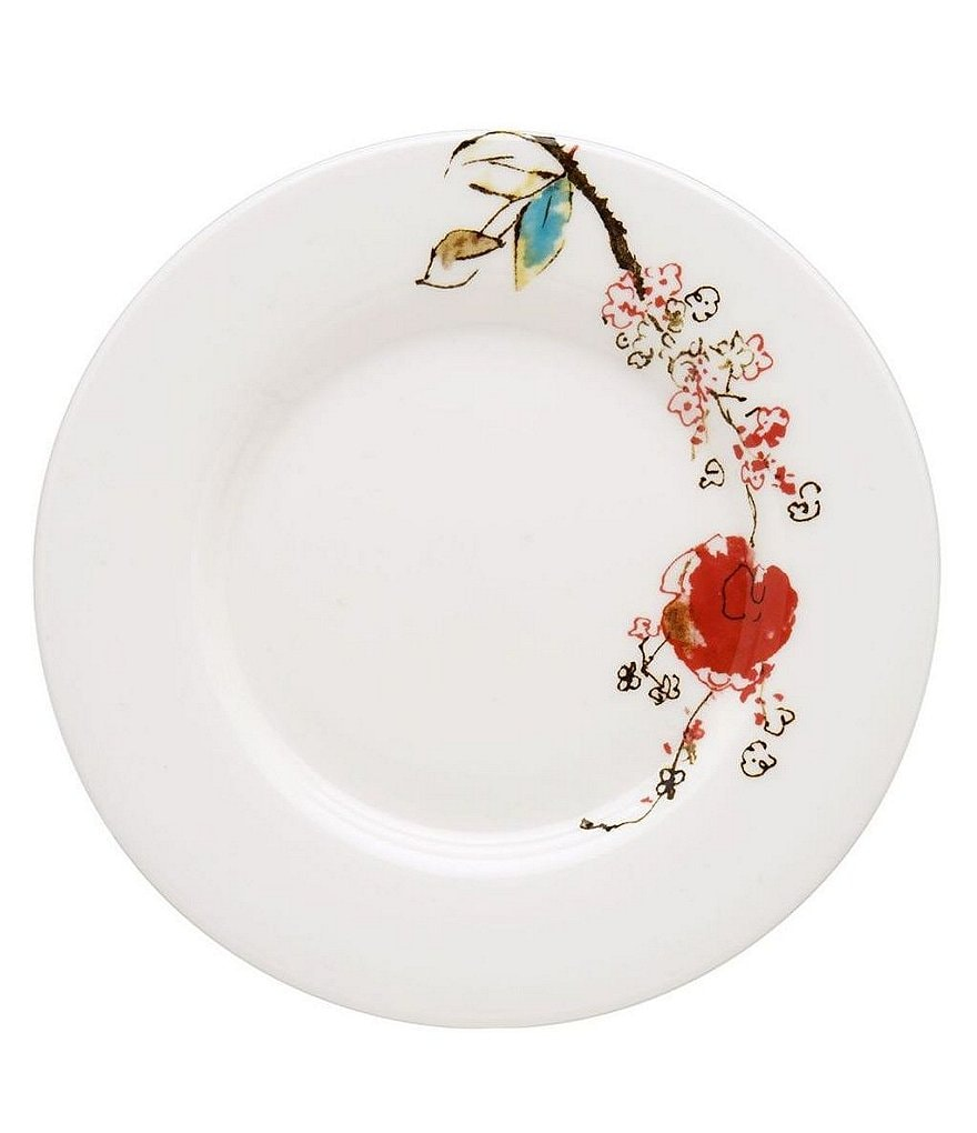 Lenox Chirp Floral Bone China Bread & Butter Plate
