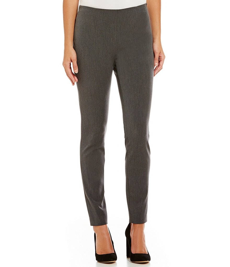 Vince Camuto 2 Way Stretch Twill Side Zip Leggings