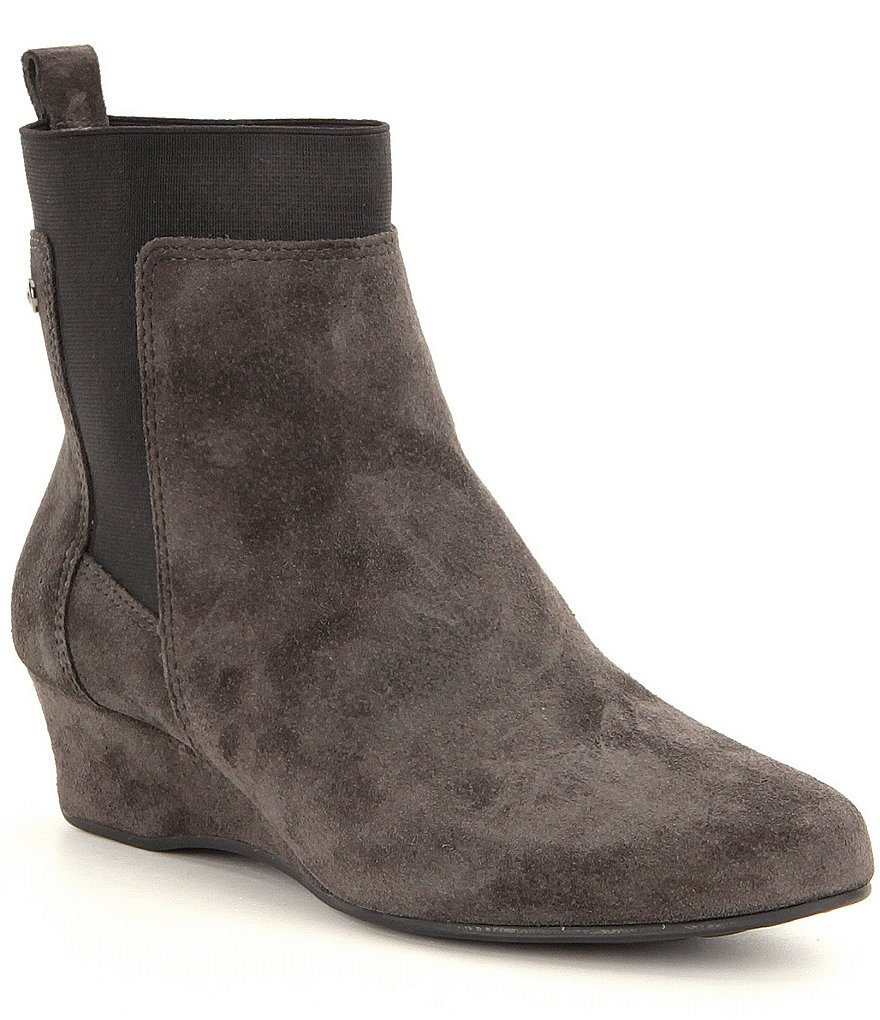 Nurture Francie Gore Wedge Booties