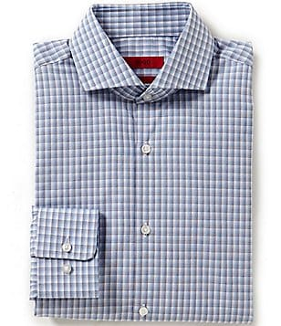 HUGO HUGO BOSS Sharp Slim-Fit Spread-Collar Dress Shirt