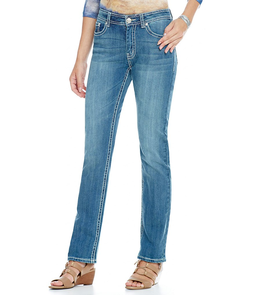 Reba Vintage Blues Jayden Embroidered Jean