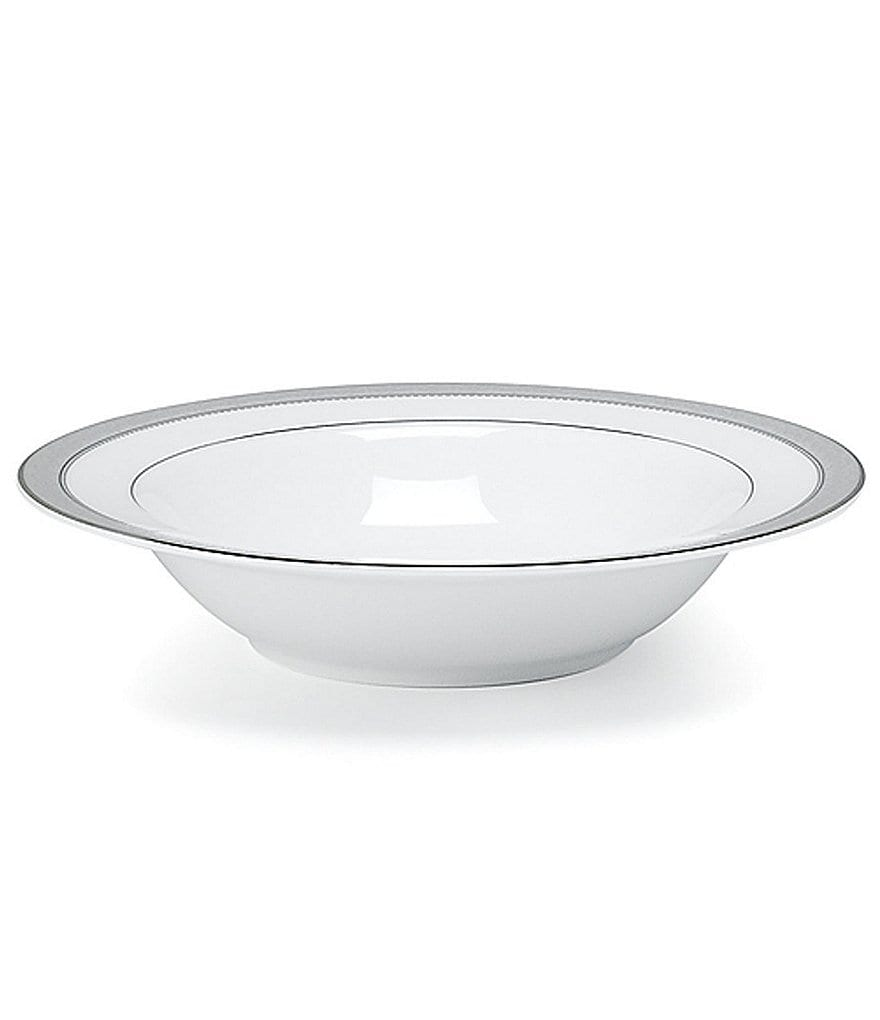 Mikasa Platinum Crown Filigree Platinum Porcelain Fruit Bowl