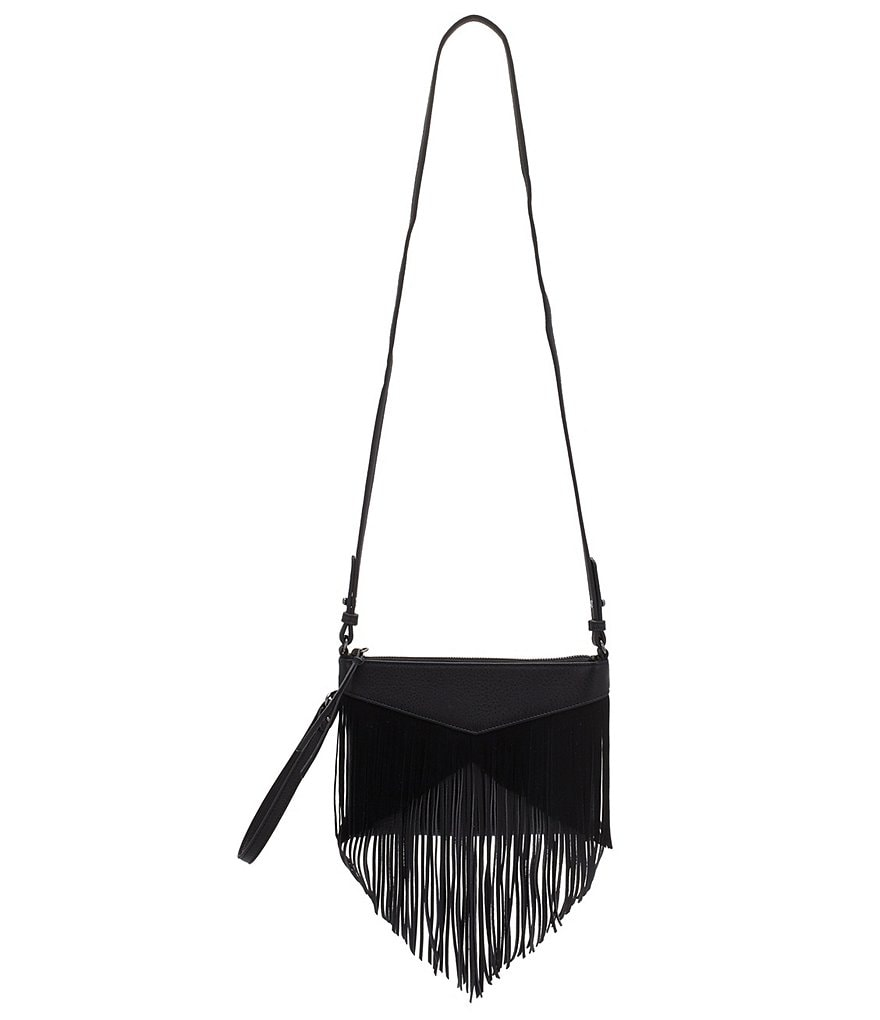 Sam Edelman Adrianna Fringed Convertible Cross-Body Bag
