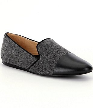 Nurture Reikel Cap Toe Wool Twill Loafers