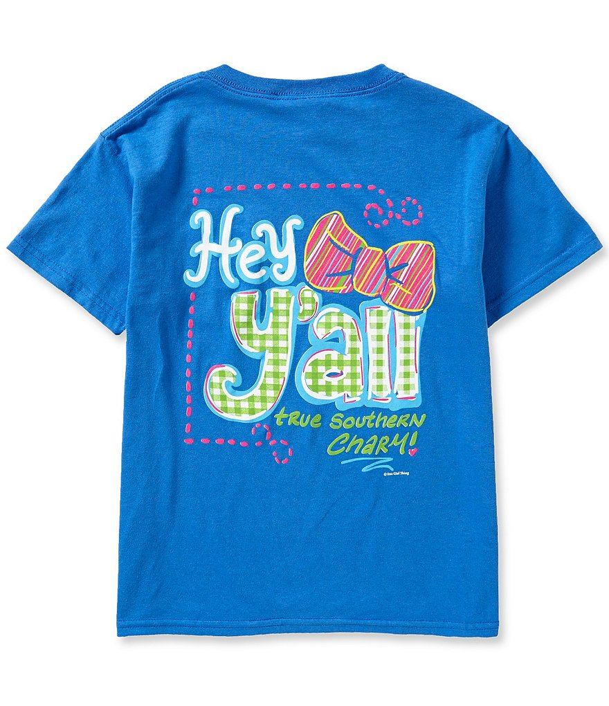 Itsa Girl Thing Big Girls 7-16 Hey Y´all Tee
