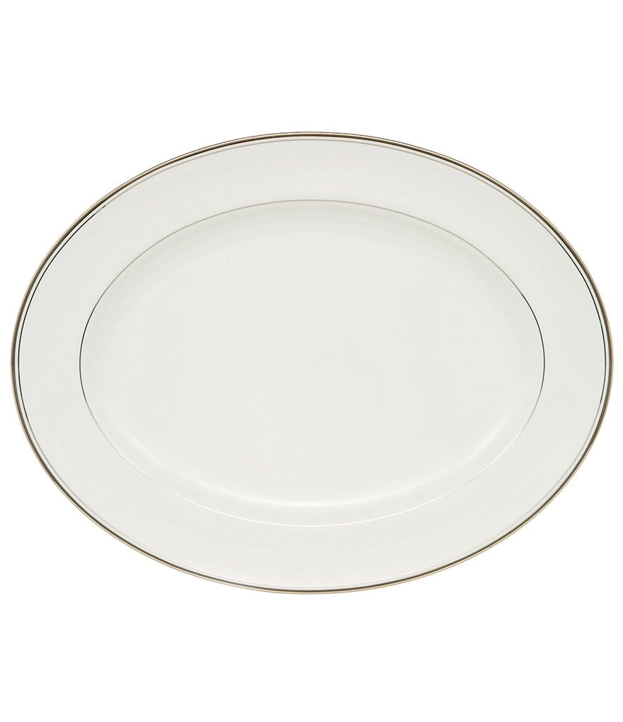 Waterford Kilbarry Platinum Bone China Oval Platter
