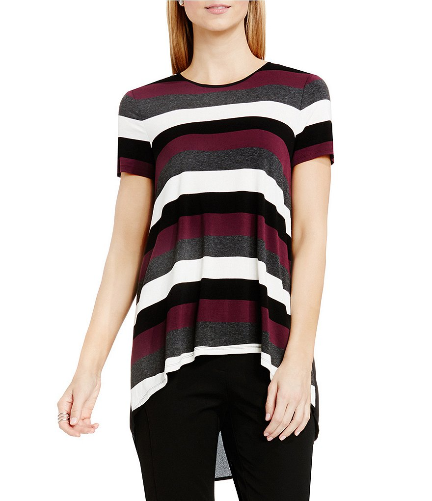Vince Camuto Chalk Stripe Top