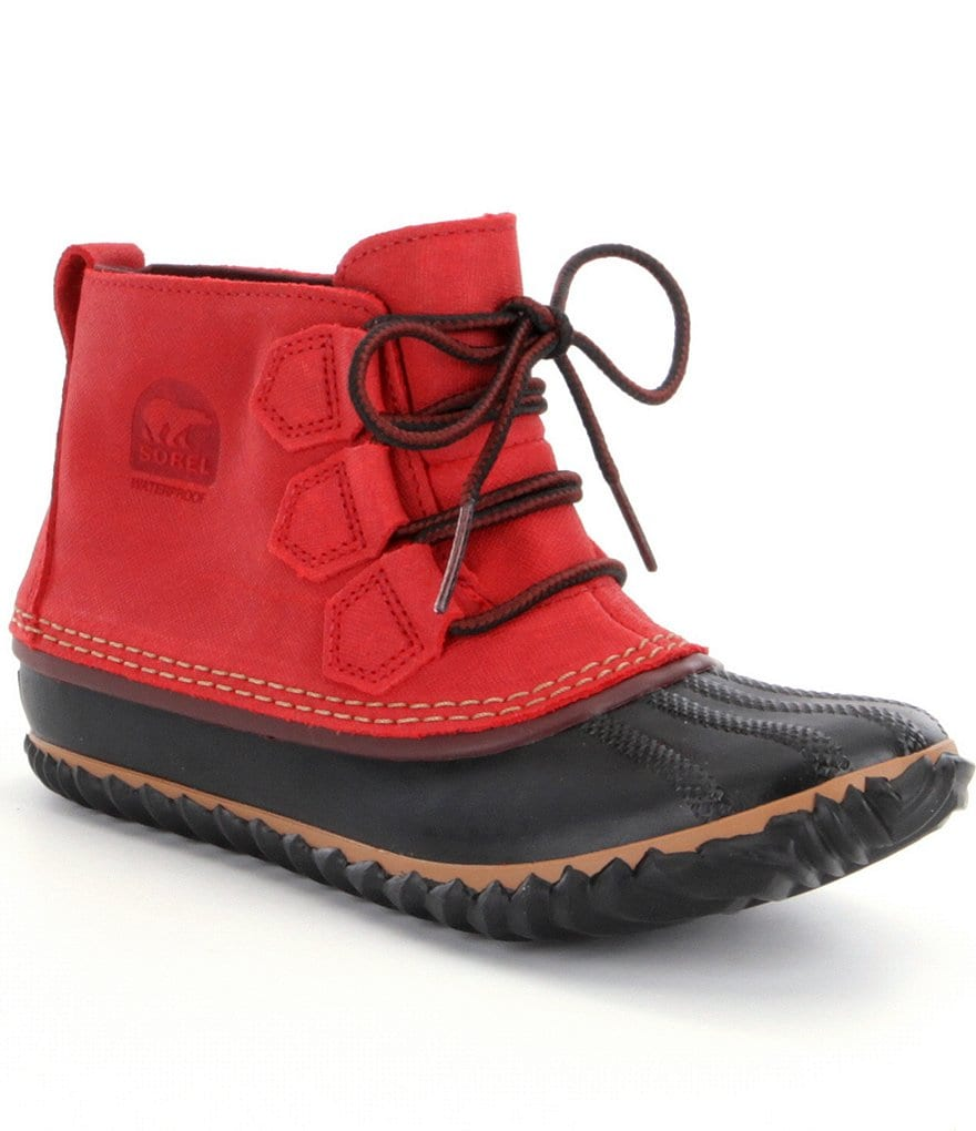 Sorel Out ´N About Leather Waterproof Booties