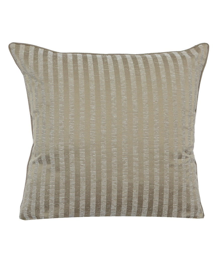 candice OLSON Arcadia Metallic Striped Euro Sham