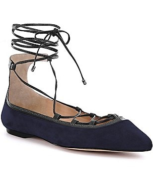 Antonio Melani Willeah Lace-Up Flats