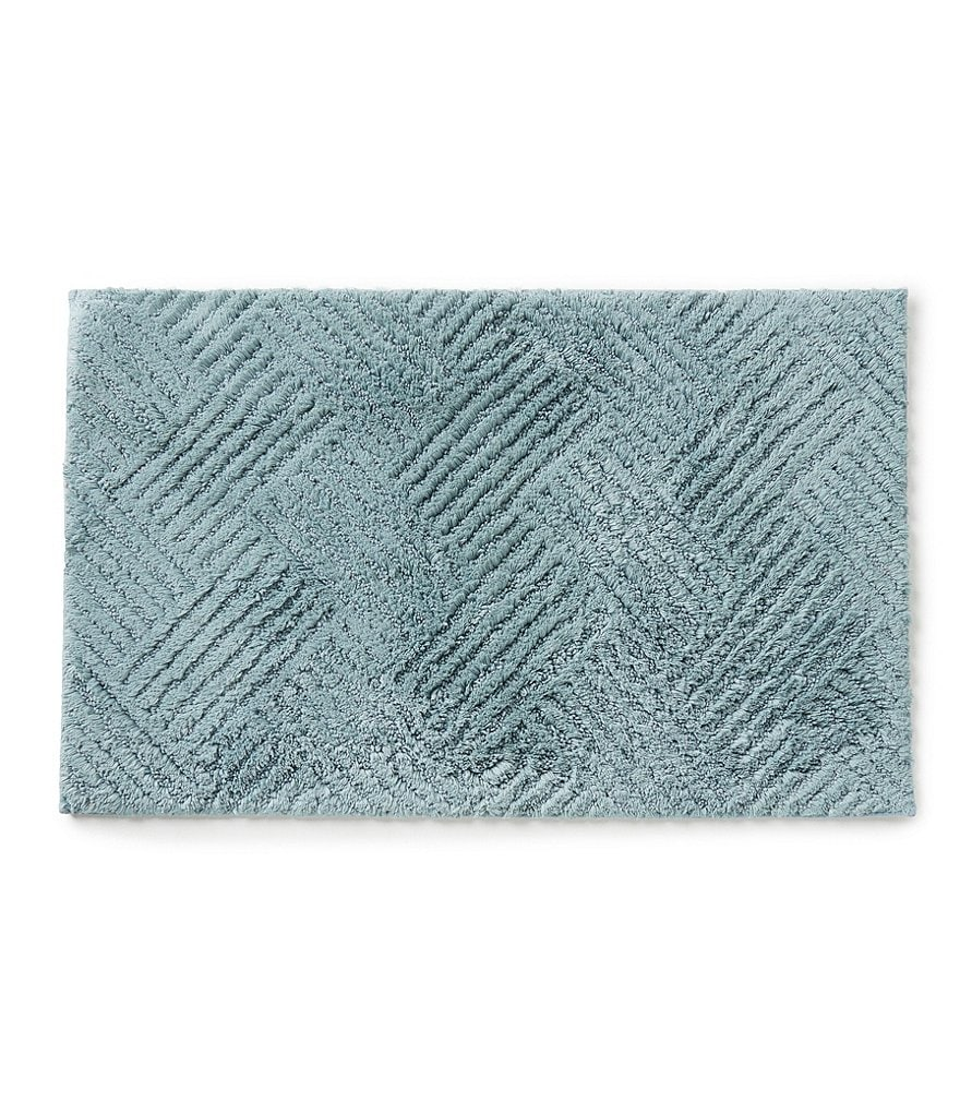 Noble Excellence Plaza Herringbone Bath Rug