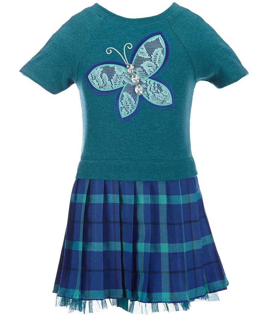 Sweet Heart Rose Little Girls 2T-6X Butterfly Dress