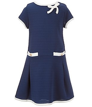 Rare Editions Little Girls 2T-6X Textured-Knit Dress
