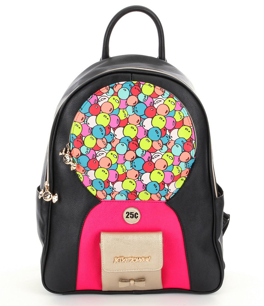 Betsey Johnson Bubble Gum Backpack