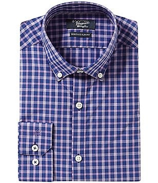 Original Penguin Heritage Slim-Fit Button-Down Collar Plaid Dress Shirt