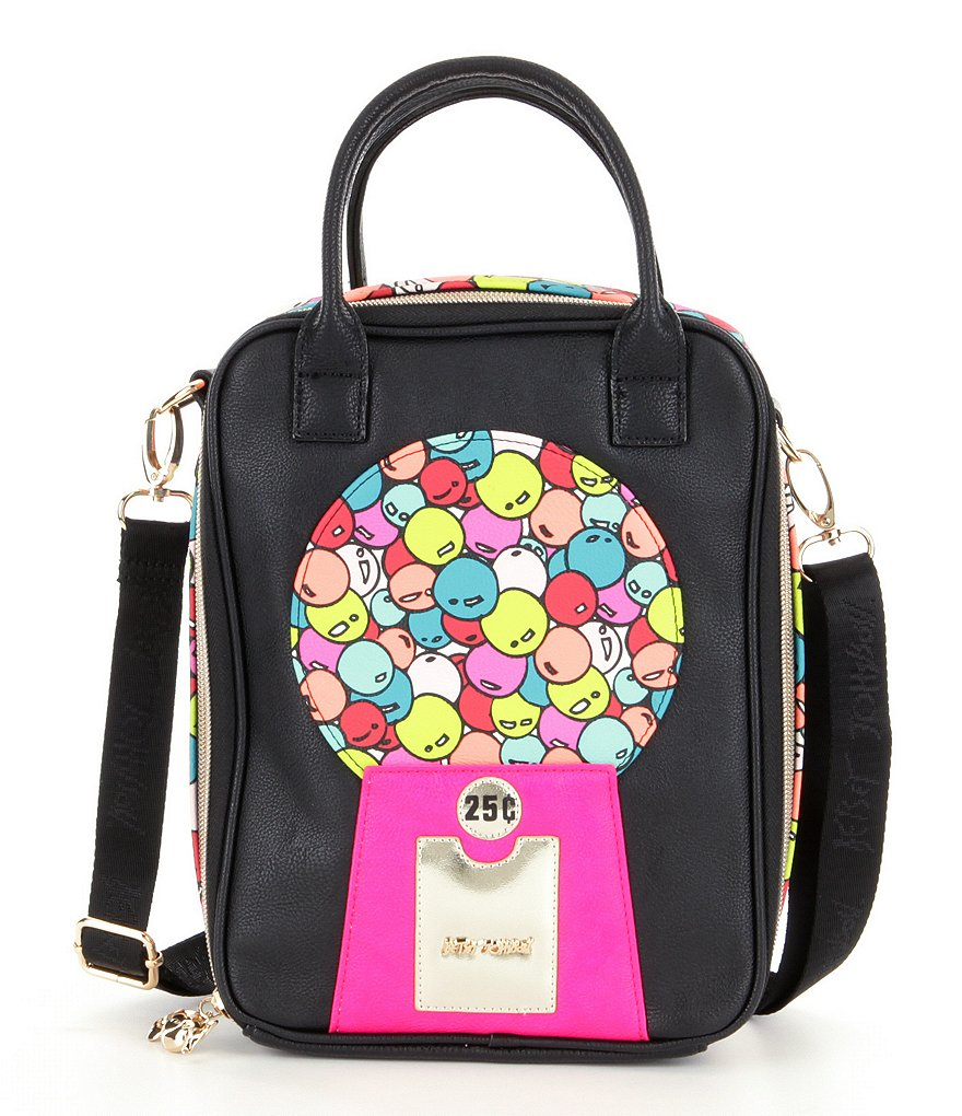 Betsey Johnson Bubble Gum Lunch Tote