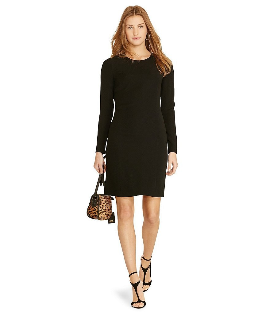 Polo Ralph Lauren Long Sleeve Shift Dress